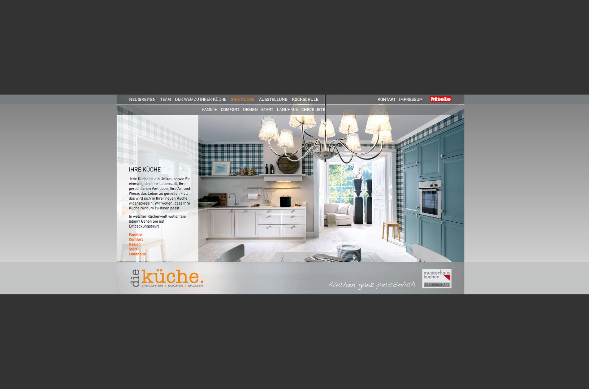 HAMMERGEIGEROT » Die Küche Homepage